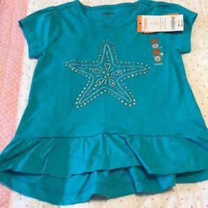 Girls GYMBOREE NEW YORK GIRL Adorable Shirt 12-18 M NWT